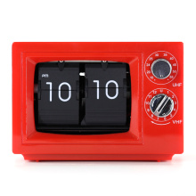 Small TV Flip Clock with Light