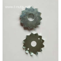 Stamping Zinc plated single The dog tooth washer