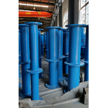 Ducile iron flanged  pipe