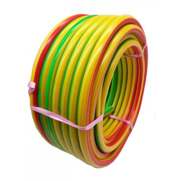 Colored cover braided PVC spray hose