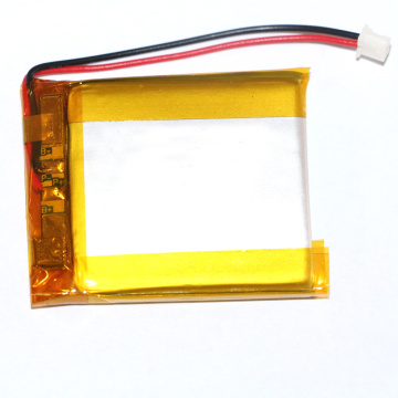 383342 630mah 3.7v lipo batteries with connector
