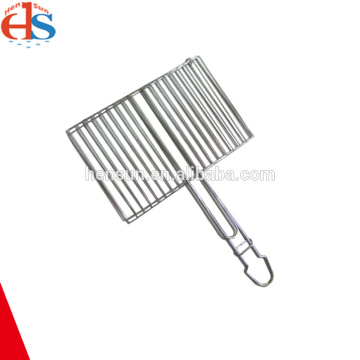 Square Grill BBQ Hamburger Wire Basket