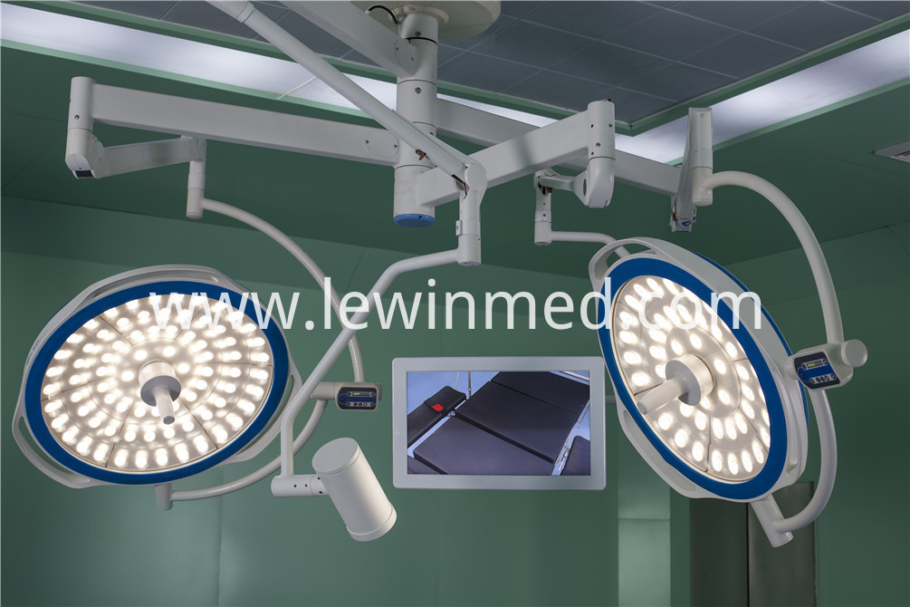 LED light with camera system