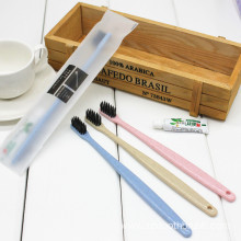 Hotel disposable toothbrush   Wheat straw Custom