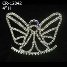 2018 Butterfly Shape Crown Tiara