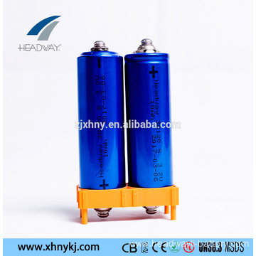 rechargeable 38120S-10Ah 3.2V lifepo4 battery for e-vehicles
