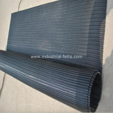 Polyester spiral sludge dewatering conveyor fabric belts