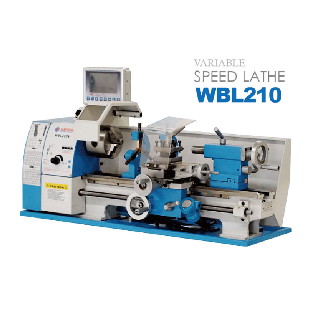 Brushless lathe series Swing over bed 210mm