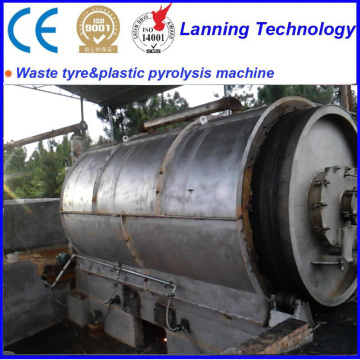 Customizable waste to tire oil equipment