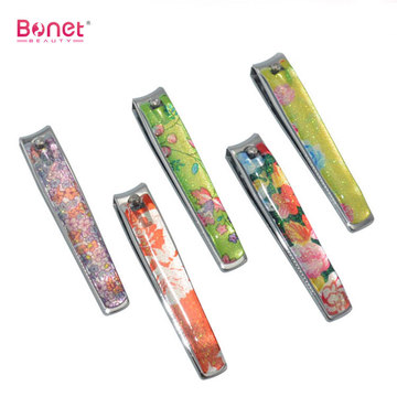Glitter Pattern Handle Nail Clipper