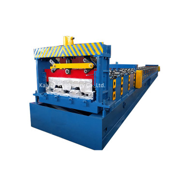 Zinc Steel Floor Deck Metal Sheet Rolling Machine