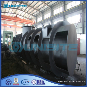 Boat steel loading boxes