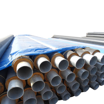 Steel Glass Wool Insulation Steel Pipe