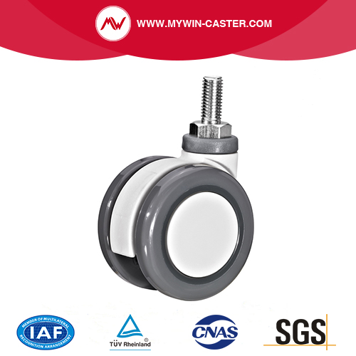 Threaded Stem Swivel Medical Castor
