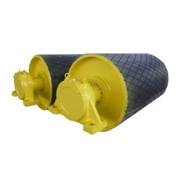 Rubber Lagging Conveyor Pulley