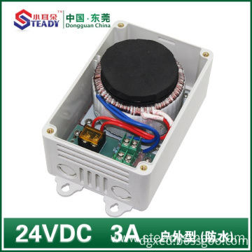 Outdoor power supply Waterproof 24VDC 3A