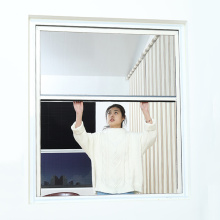Retractable window with aluminum frame 3400