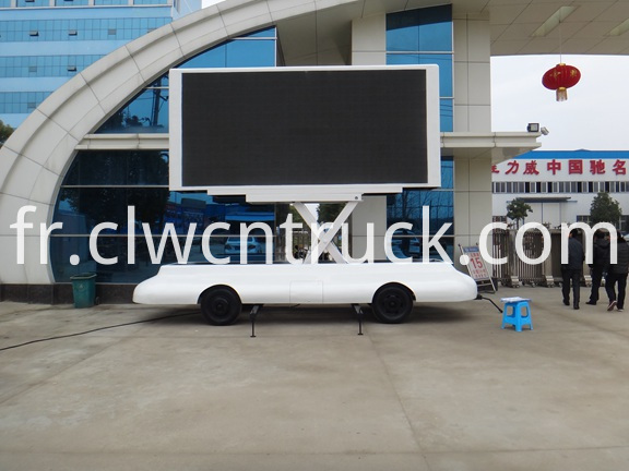 Mobile LED Advertising Trailer 2