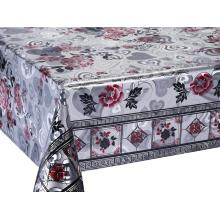 Bottom price for Double Face Silver Gold Tablecloth Silver Gold Double Face Emboss Printed Tablecloth supply to Armenia Manufacturers