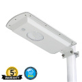 15W Outdoor Solar Pole Lamp Street Lighting