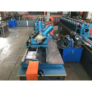 CE Galvanized C Z Purlin Roll Forming Machine