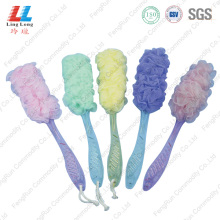 Best quality and factory for Mesh Bath Brush,Bath Brush,Shower Brush Manufacturers and Suppliers in China mesh long luffa shower bath brush set supply to France Manufacturer