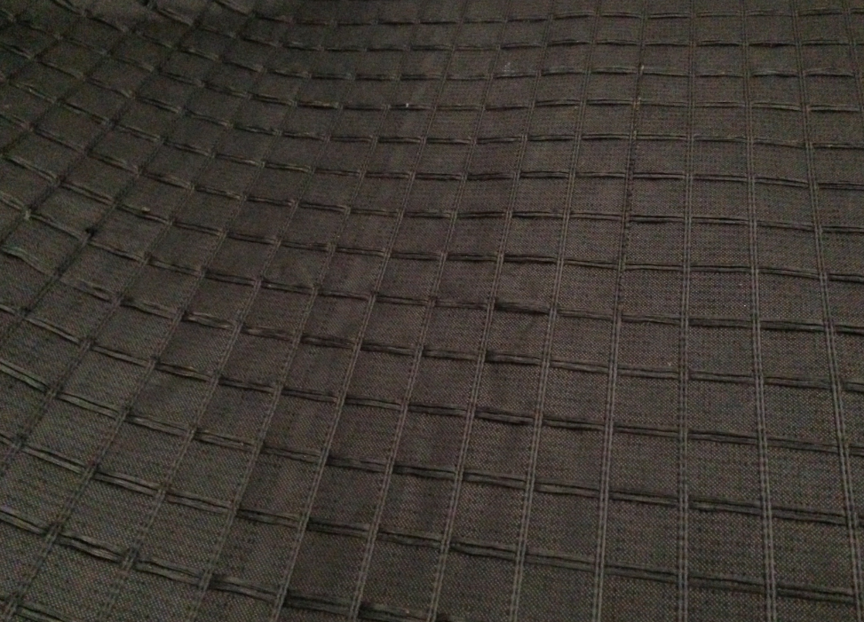 Composite Fiberglass Geogrid With Nonwoven Geotextile