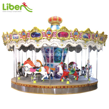 Electric amusement merry go round for kids