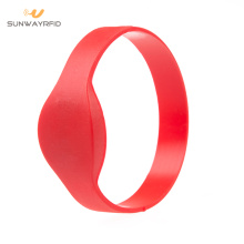 65MM 13.56MHZ RFID Silicone Wristband ready to ship