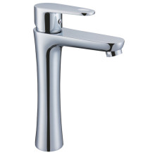 Brass Chrome Basin High Body Mixer
