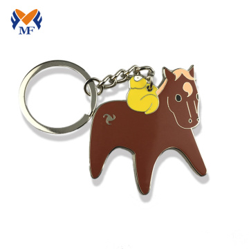 Metal custom keychain logo keychain no minimum