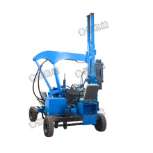 China for China Guardrail Pile Driver,Diesel Engine Drilling,Press Wheel Pile Driver Manufacturer Highway Guardrail post pile driver supply to Benin Suppliers