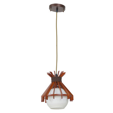 Antique Industrial Wooden pendant lamp