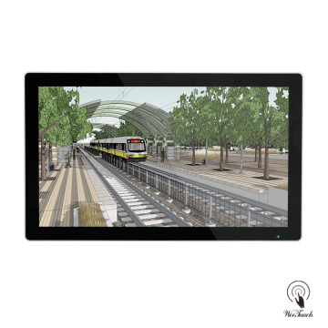 49 Inches Digital Advertising Screen For Metro Station