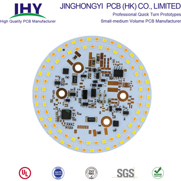 Quality Reliable Custom 4 Layer Aluminum PCB PCBA Assembly with LED