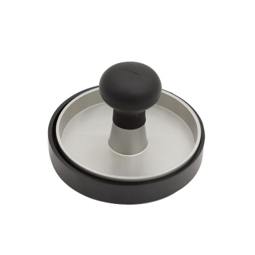 Mirror Polish Stainless Steel Burger Patty Press