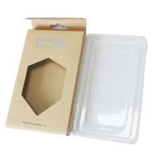 Electronic Use Brown Kraft Paper Mobile Phone Package