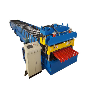 Aluminium Metal Roof Glazed Tile Roll Forming Machine
