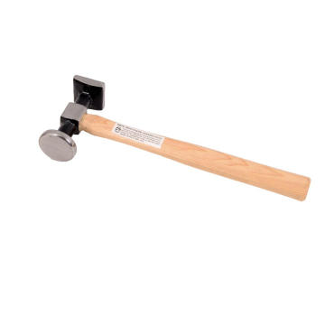 shrinking  head hammer with wooden handle