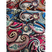 Pasiley Design Rayon Challis 32S Printing Fabric