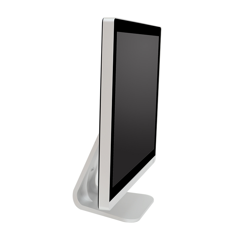 B150-C industrial lcd display front sideview
