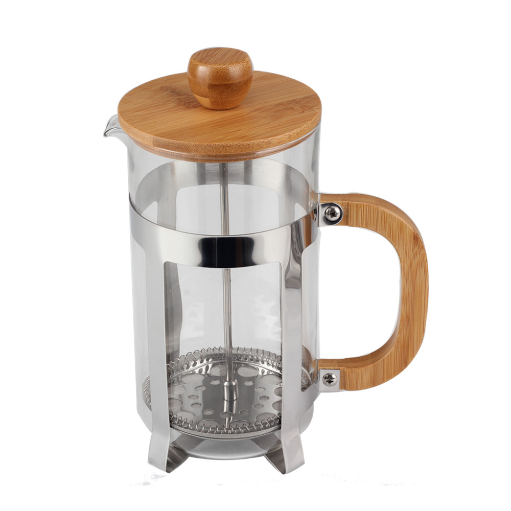 Bamboo French Press Coffee Maker French Press