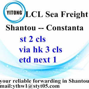Shantou LCL Consolidation Freight Agent to Constanta