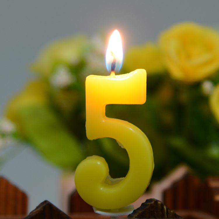 number candle 34
