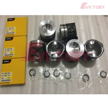 Excavator parts 3066 piston connecting rod crankshaft