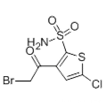 3-(2-Bromoacetyl)-5-chloro-2-thiophenesulfonamide CAS 160982-11-6