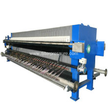 Automatice High Working Efficiency Membrane Filter Press