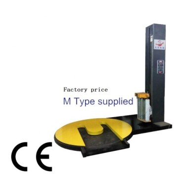 M type automatic pallet wrapping machine