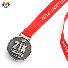 Renewable Design for Running Race Medals Custom run with finisher enamel medals supply to India Suppliers