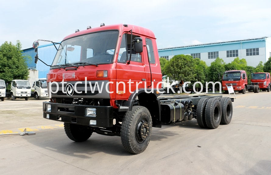 water tank truck chassis